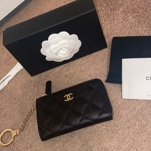 Chanel key holder